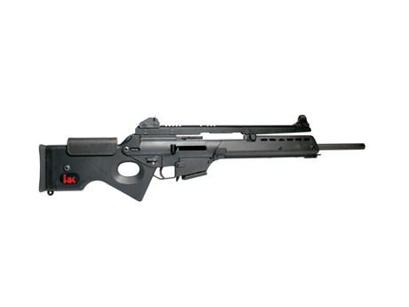 Heckler & Koch (H&K) SL8-5 Semi-Auto Target Rifle - 223 Rem, Black, Long Rail w/Sight, 5rds?>