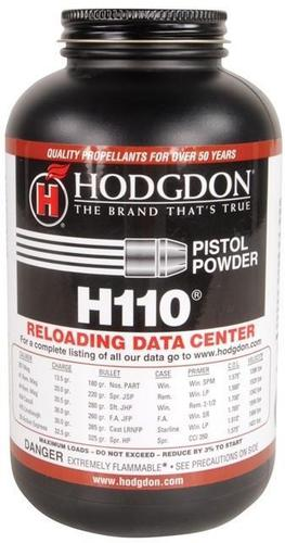 Hodgdon Smokeless Shotgun & Pistol Powder - H110, 1 lb?>