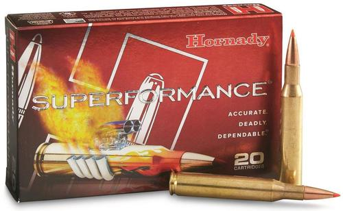Hornady Superformance Rifle Ammo - 257 Roberts +P, 117gr, SST, SPF, 20rds Box?>