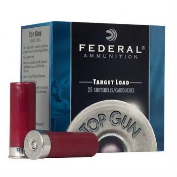 "Federal Top Gun Target Load Shotgun Ammo - 12Ga, 2-3/4"", 3DE, 1oz, #7.5, 250rds Case?>"