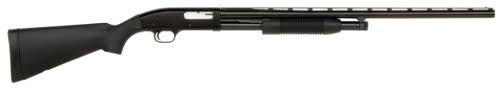 "Mossberg Maverick 88 All Purpose Pump Action Shotgun - 12Ga, 3"", 28"", Blued, Black Synthetic Stock, 5rds, Front Bead Sight, Accu-Choke (Modified)?>"