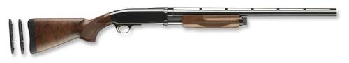 "Browning BPS Micro Midas Pump Action Shotgun - 410 Bore, 3"", 24"", Vented Rib, Polished Blued, Polished Blued Steel Receiver, Satin Grade I Black Walnut Stock, 4rds, Silver Bead Front Sight, Invector Flush (F,M,IC)?>"