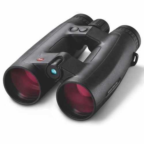 Leica Sport Optics, Rangefinding Binoculars - Geovid 3200.COM 10x42mm, 10-3200yds (Applied Ballistics out to 3200yds), Compatible With Leica ABC Ballistic Data, Bluetooth Connectivity, HDC Multicoating, LED Display, Black, CR2 Battery?>