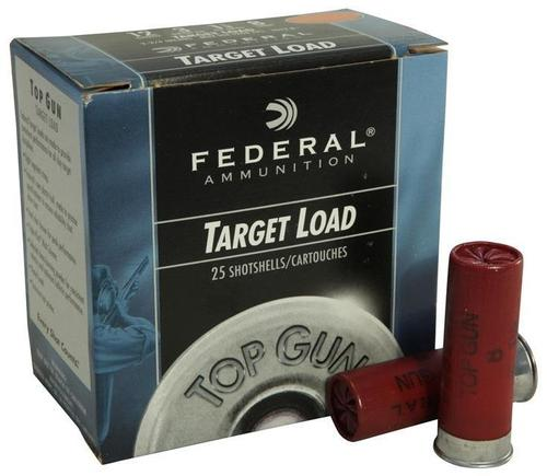"Federal Top Gun Target Load Shotgun Ammo - 12Ga, 2-3/4"", 2-3/4DE, 1-1/8oz, #9, 250rds Case?>"