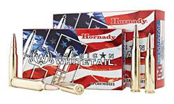Hornady American Whitetail Rifle Ammo - 30-30 Win, 150Gr, InterLock RN American Whitetail, 200rds Case?>