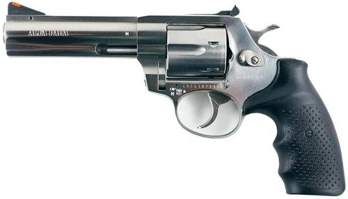 "Alfa-Proj ALFA Classic Steel 9251 DA/SA Revolver - 9mm, 4.5"", Stainless Steel, 6rds, Adjustable Sight?>"