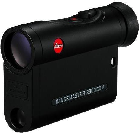 Leica Sport Optics, Rangemaster Rangefinders - CRF 2800.COM, 7x24mm, 10-2800yds (EHR Ballistics out to 1200yds), Compatible With Leica ABC Ballistic Data via Bluetooth (Smartphone or Kestrel), HDC Multicoating, LED Display, Black, CR2 3V?>