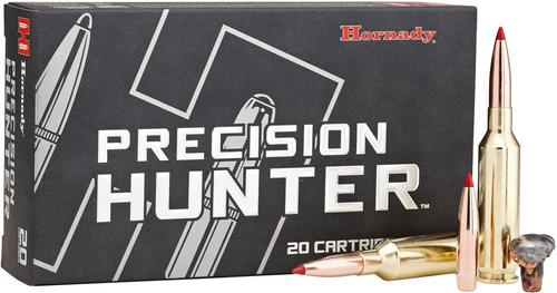 Hornady Precision Hunter Rifle Ammo - 280 Ackley Improved, 162 Grain, ELD-X, 20rds Box?>