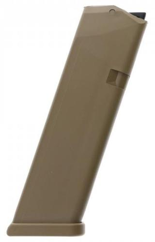 Glock Pistol Magazine - 9mm, Factory 10rds, Coyote, For 17, 34, 19x?>