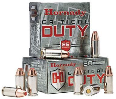 Hornady Critical DUTY Handgun Ammo - 40 S&W, 175Gr, FlexLock Duty, 25rds Box?>