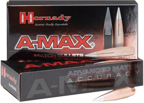 "Hornady Rifle Bullets, A-MAX- 50 Caliber (.510""), 750Gr, A-MAX, 20ct Box?>"