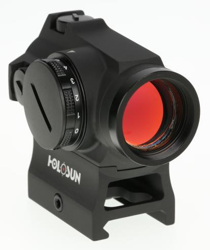 Holosun Red Dot Sights - HS503R Red Dot Sight, Black, 2 MOA Dot & 65 MOA Circle, 0.5 MOA Click Value, 2 NV & 10 DL Settings, Multi-Layer Coating, Waterproof IP67, w/ High & Low Mount, CR2032, 20,000 hrs?>