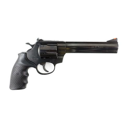 "Alfa-Proj ALFA Steel 3561 DA/SA Revolver - 357 Mag, 6"", Blued, Steel, 6rds, Adjustable Sight?>"