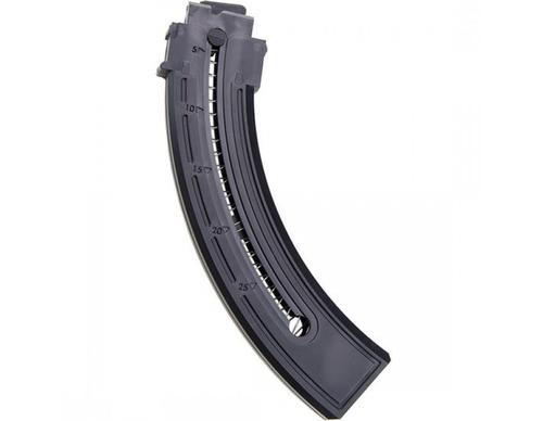 Mossberg Magazines & Loaders, Rifle - Blaze Magazine, 22 LR, 25rds, Black Plastic?>