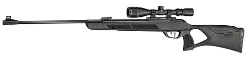 Gamo Magnum Air Gun, Break Action Single Shot Airgun - .177, 1650fps, IGT MACH 1 Gas Piston, Thumb Hole All Weather Stock, 3-9x40 Scope?>