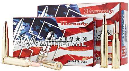 Hornady American Whitetail Rifle Ammo - 308 Win, 165Gr InterLock SP American Whitetail, 20rds Box?>