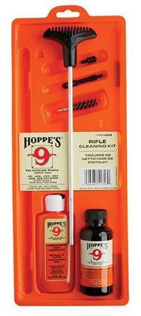 Hoppe's No.9 Cleaning Kits - Rifle Kit w/Aluminum Rod, (.22, .222, .223, .224, .225, .243, .25, .25-06, .257)?>