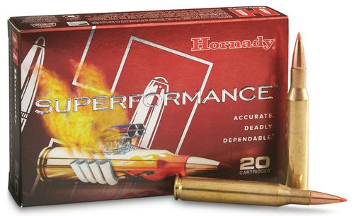 Hornady Superformance Rifle Ammo - 6.5 Creedmoor, 129Gr, SST Superformance, 20rds Box?>