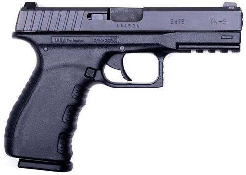 Tara TM9 Semi-Auto Pistol - 9mm, Black, Polymer w/ Steel Slide, 2x10rds?>