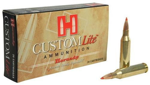 Hornady Custom Lite Rifle Ammo - 243 Win, 87Gr, SST Custom Lite, Reduced Recoil, 20 rds Box?>