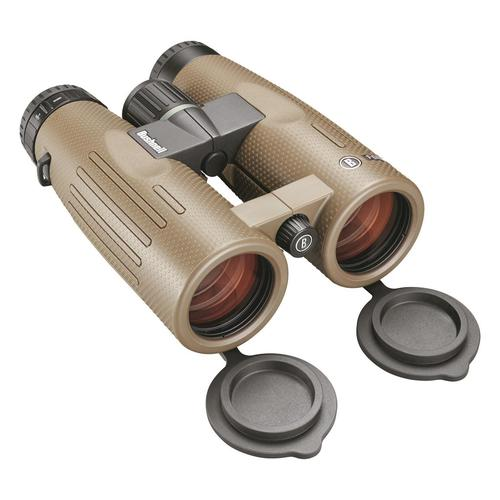 Bushnell Binoculars, Forge - 8x42mm, PC-3 Phase Coated Roof Prism, Waterproof/Fogproof, EXO Barrier, ED Prime Glass, Ultra Wide Band Lens Coating, Brown?>