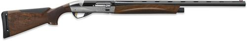 "Benelli ETHOS Semi-Auto Shotgun - 28Ga, 3"", 26"", Blued, Engraved Nickel-Plated Receiver, AA-Grade Satin Walnut Stock, 4rds, Red-Bar Front & Metal Mid Bead Sights, Flush Crio Chokes (C,IC,M,IM,F)?>"