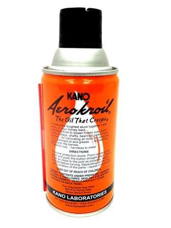 Kano Penetrating/Lubricating Oil - Aero Kroil, 10oz (284g) Spray Can?>