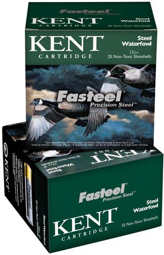 "Kent Fasteel Precision Steel Steel Waterfowl Shotgun Ammo - 12Ga, 3"", 1-1/8oz, #3, 250rds Case, 1560fps?>"