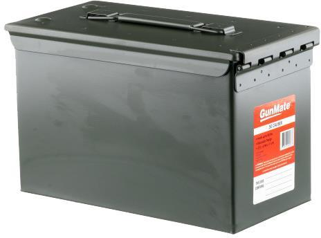 Gunmate Ammo Containers - 50 Cal Ammo Can, Steel, OD?>