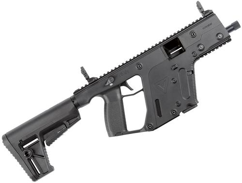 "KRISS Vector Gen II SBR Semi-Auto Carbine - 45 ACP, 5.5"", Black, M4 Stock Adaptor w/Defiance M4 Stock, 10rds, Flip Up Front & Rear Sights, Thread Muzzle?>"