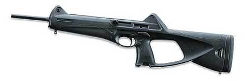 "Beretta CX4 Storm Semi-Auto Carbine - 9mm, 500mm (19.685"") (Non-Restricted), Chrome Lined, Black, Black Synthetic Stock, 2x10rds, Adjustable Front & Aperture Rear Sights?>"