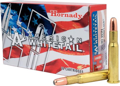American WhiteTail 30-30 WIN 150 gr. Interlock Big Game Rifle Ammunition?>