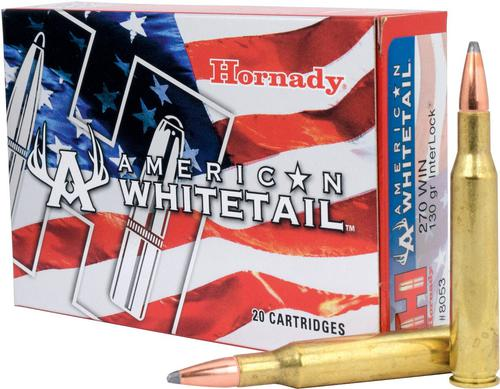 InterLock SP American Whitetail .270 WIN cal Ammunition - 130 gr - 20/Box?>