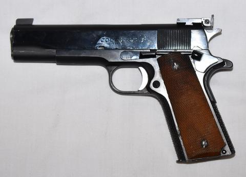 USED COLT 1911-A1 CUSTOM .38Sp?>