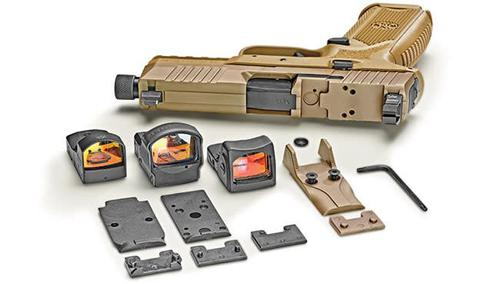 FN 509 Tactical 9mm fde (optic not included)?>