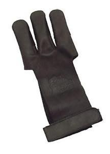 OMP OMP Traditional Shooters Glove Small - Dark Brown/ Leather?>