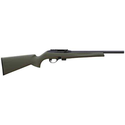 "Remington  597 16.5"" HB Green Stock semi-auto?>"