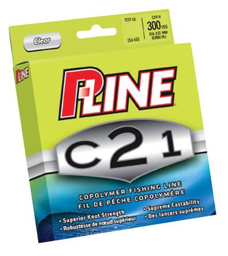 P-Line P-Line C21 300-Yard 10-Pound Copolymer Fishing?>