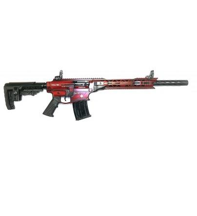 Derya Arms MK12, Distressed Red/White Maple Leaf - 12GA, 3'', 20'' Barrel?>