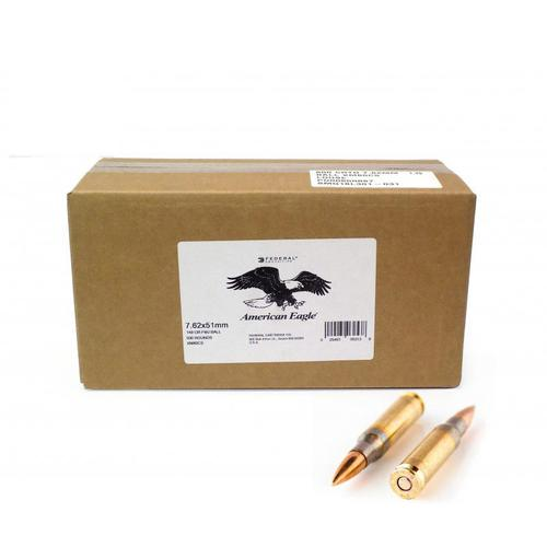 Federal Lake City 7.62×51/308 Win Ammunition FMJ 149 Gr 500 rds/case?>