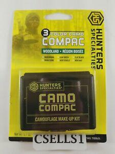 Hunters Specialties 00260 Camo-Compac 3-Color Woodland Makeup?>