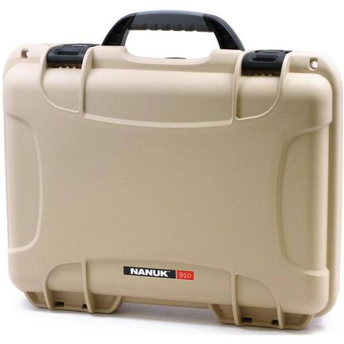 Nanuk Nanuk 910 Case with Foam Classic Tan?>