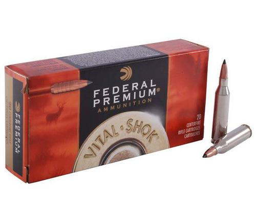 Federal Premium Vital-Shok Rifle Ammo,NP,20rd/Box?>