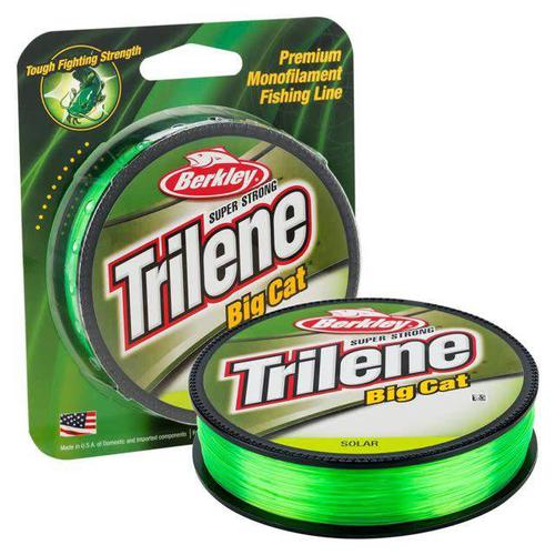 Berkley Berkley Trilene Big Cat Monofilament 30 lb Test 220 YD Fishing Line Solar Green?>