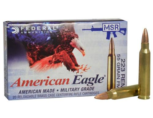 Federal Federal  American Eagle 223 rem 55Gr 500/box?>