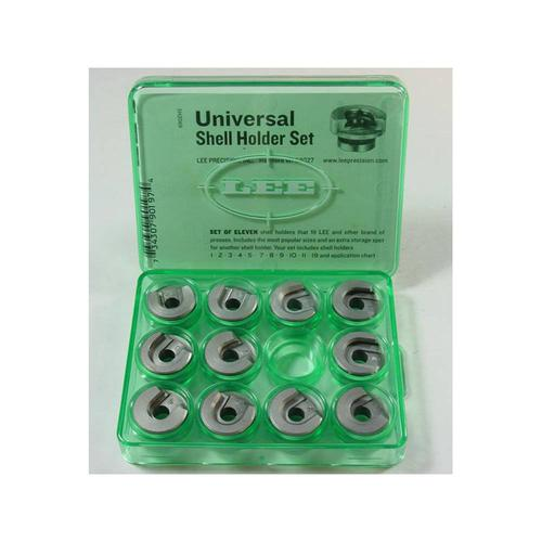 Lee Lee Universal Shellholders, Package of 11.Includes shellholders: #1, #2, #3, #4, #5, #7, #8, #9, #10, #11 and #19?>