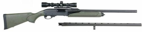 Remington 870 Express Pump Shotgun 12Ga. 2-Barrel Package, W/2-7x32mm Scope?>