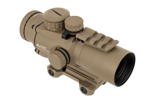 Primary Arms Silver Series Compact 3x32 Gen III Prism Scope - ACSS-CQB 300BLK/7.62x39 - FDE?>