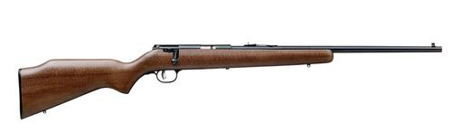 Savage Savage MARK I G Bolt Rifle 22 LR, RH, 21 in, Satin Blued, Wood Stk, 1 Rnd, Accu-Trigger?>