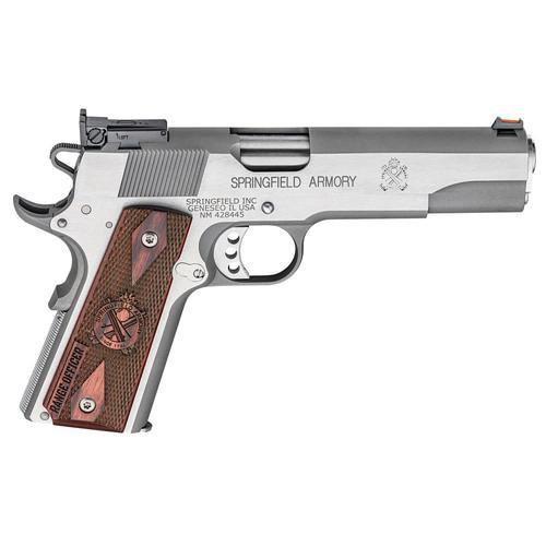 Springfield Armory Range Officer 1911 Pistol 45 ACP 5″ Match Barrel Stainless?>
